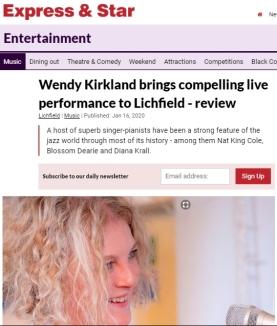 https://www.expressandstar.com/entertainment/music/2020/01/16/wendy-kirkland-brings-compelling-live-performance-to-lichfield-review/